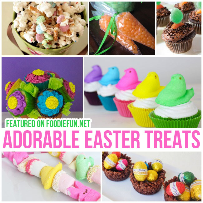 Adorable Easter Treats for Kids