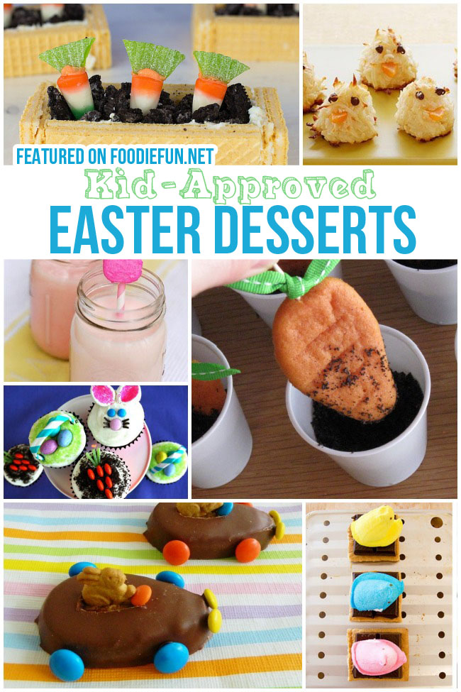 Kid Approved Easter Desserts