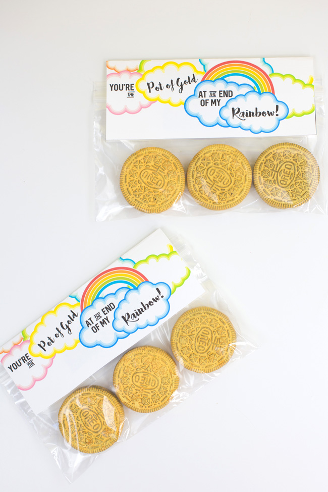 Gold Coin Oreo Cookies