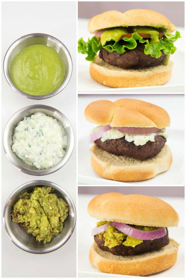 Burgers Three Ways