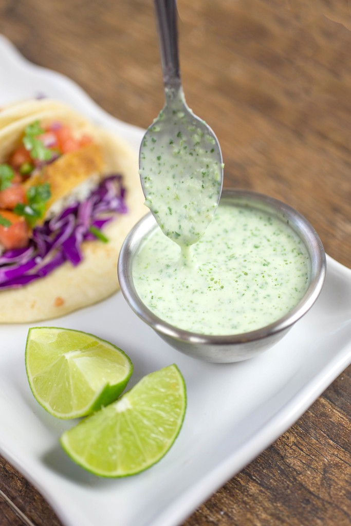 Fish Tacos with Creamy Jalapeno Sauce-2